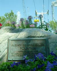 Bamberger Fountain Plaque