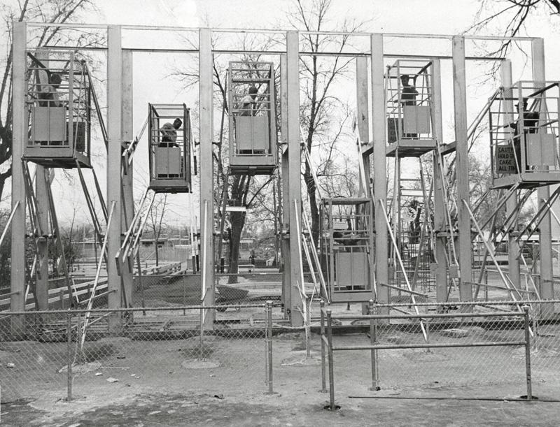 dangerous cages swinging