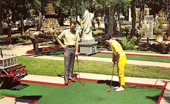 Golf-Fun Postcard