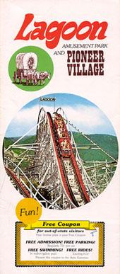 1976 Lagoon brochure.