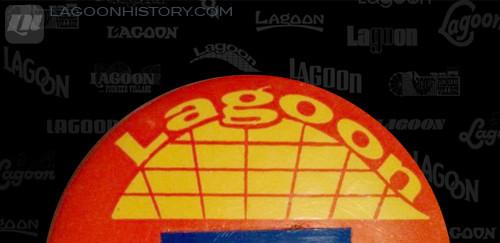 1961 Lagoon employee name badge.