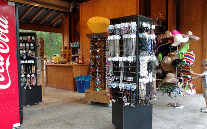 The new gift shop in Rattlesnake Rapids Plaza. Photo: B. Miskin