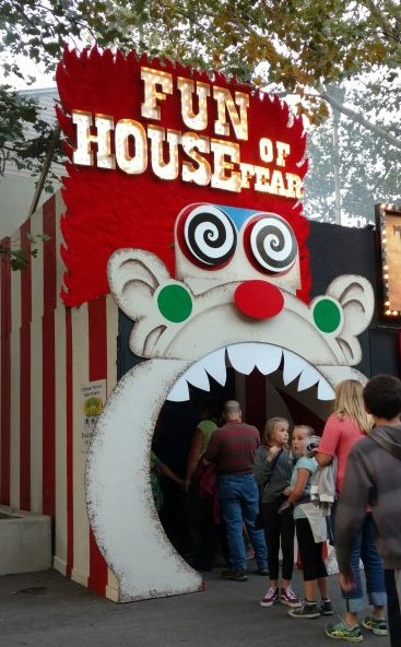 "Fun House Of Fear is a real ""people-eater."" Photo: B. Miskin"