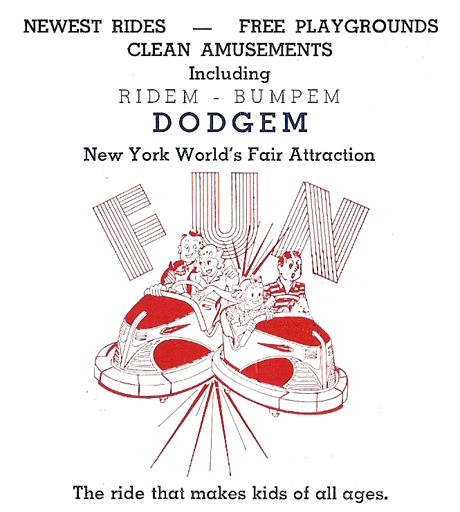 This image has an empty alt attribute; its file name is dodgem1941brochure.jpg