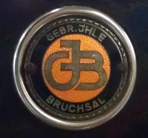 Gebrüder Ihle nameplate on the front of each car. Photo: B. Miskin